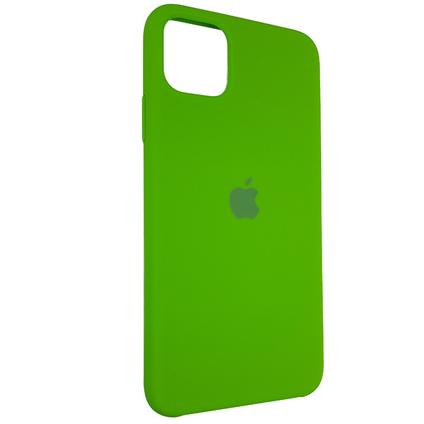 Чохол Copy Silicone Case iPhone 11 Pro Max Green (31) - 1