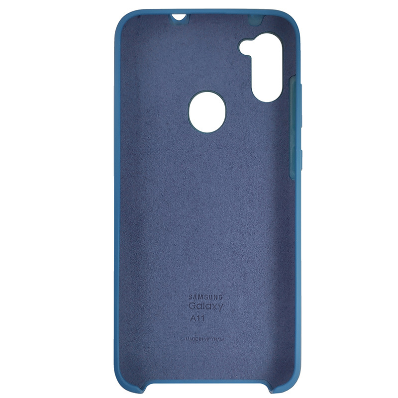 Чохол Silicone Case for Samsung A11/M11 Cobalt Blue (40) - 3
