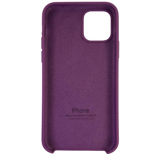 Чехол Copy Silicone Case iPhone 11 Pro Purpule (45) - 4