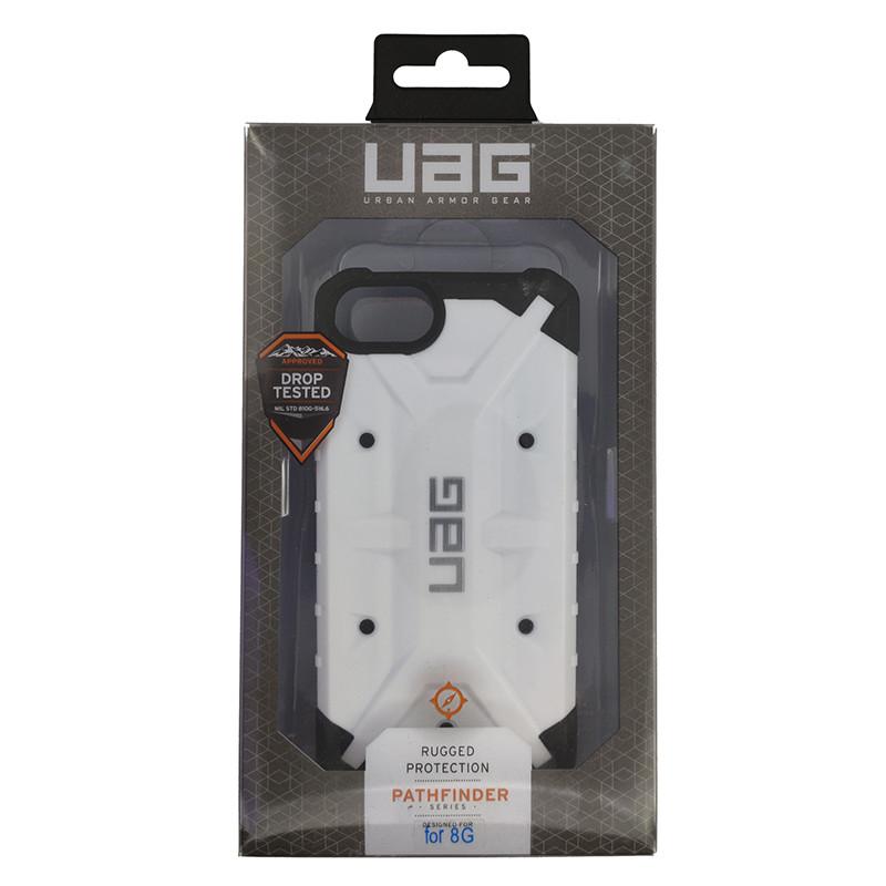Чохол UAG Pathfinder iPhone 7/8 White (HC) - 5