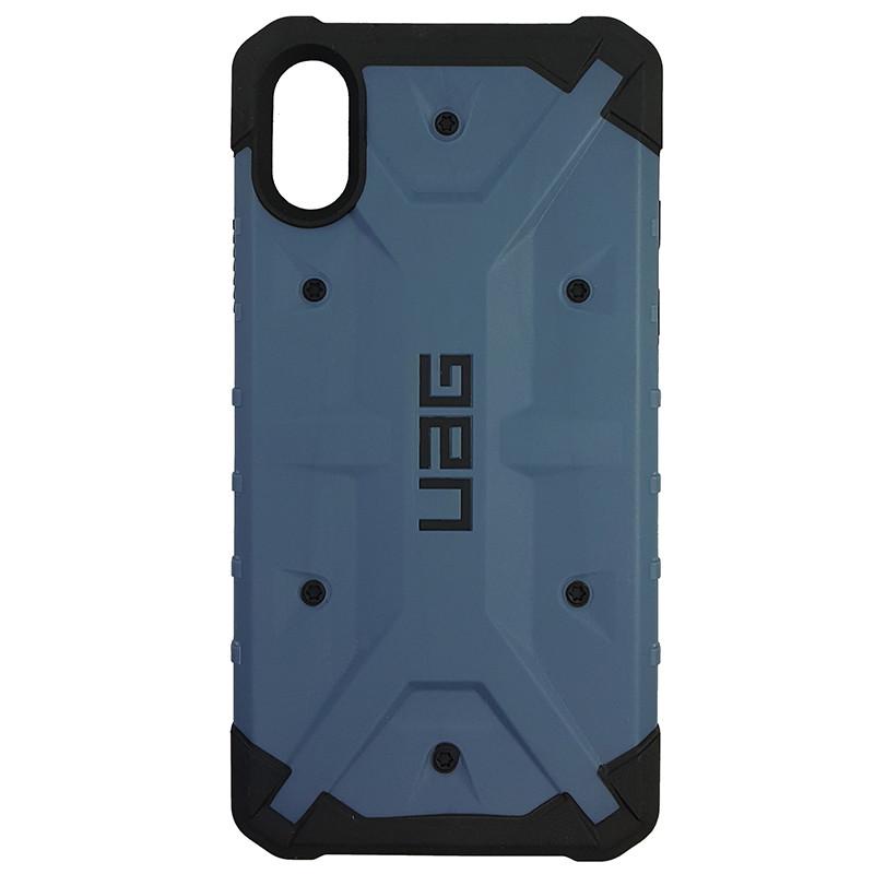 Чохол UAG Pathfinder iPhone X/XS Dark Blue (HC) - 3
