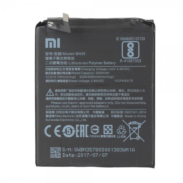 Акумулятор Original Xiaomi BN35/Redmi 5 (3200 mAh) - 1