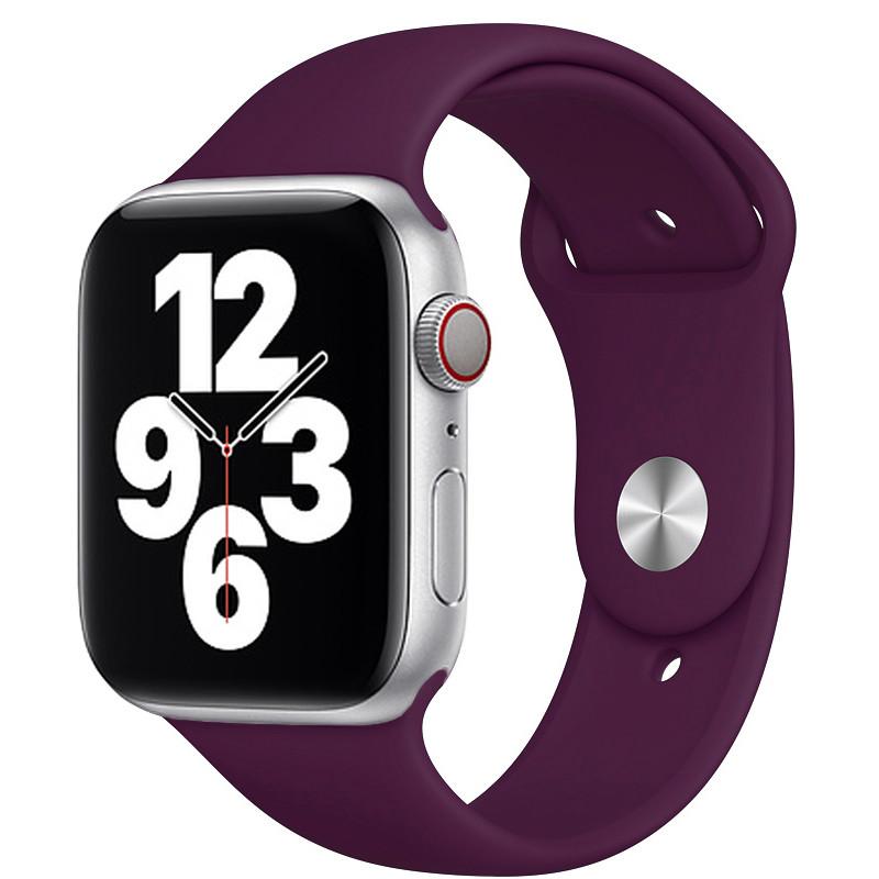 Ремінець для Apple Watch (38-40mm) Sport Band Purple (45)  - 2