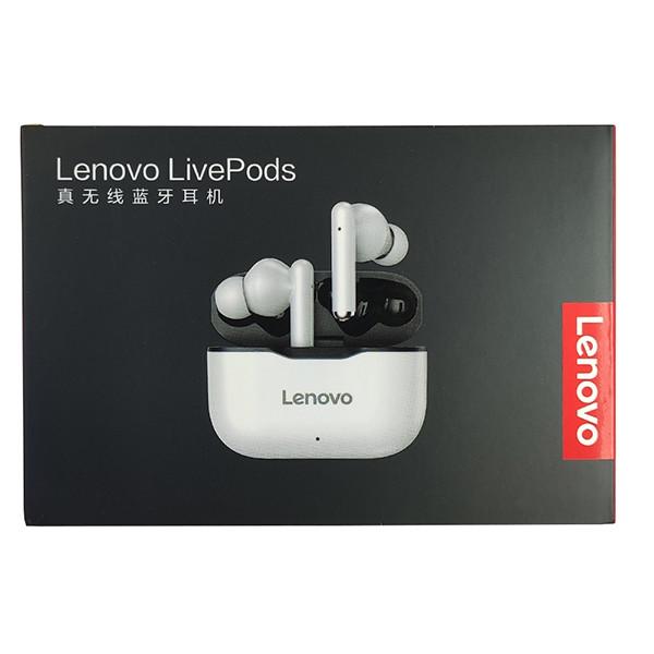 Безпровідна гарнітура Lenovo LP1 White/Black - 8