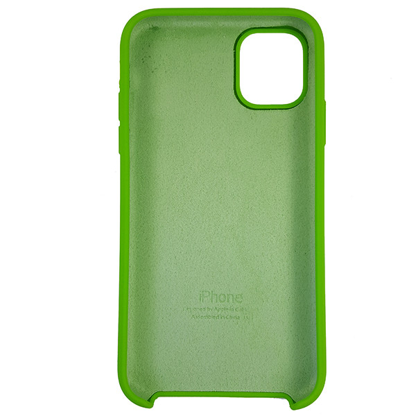 Чохол Copy Silicone Case iPhone 11 Pro Green (31) - 4