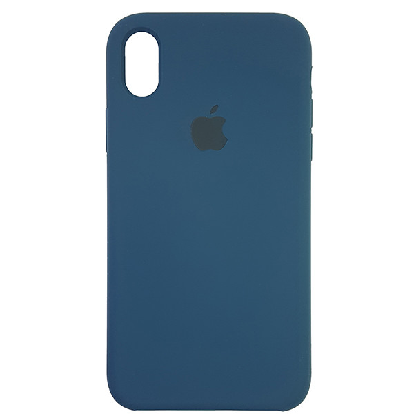Чохол Copy Silicone Case iPhone XR Cosmos Blue (35) - 3