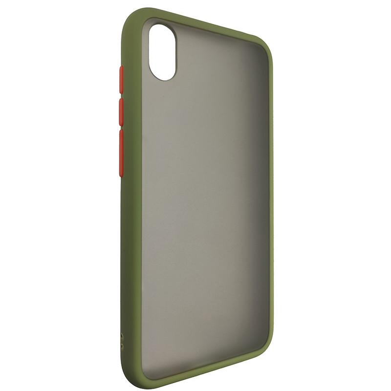 Чохол Totu Copy Gingle Series for Huawei Y5 2019 Dark Green+Orange - 1