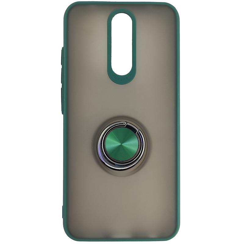Чохол Totu Copy Ring Case Xiaomi Redmi 8/8A Green+Black - 4