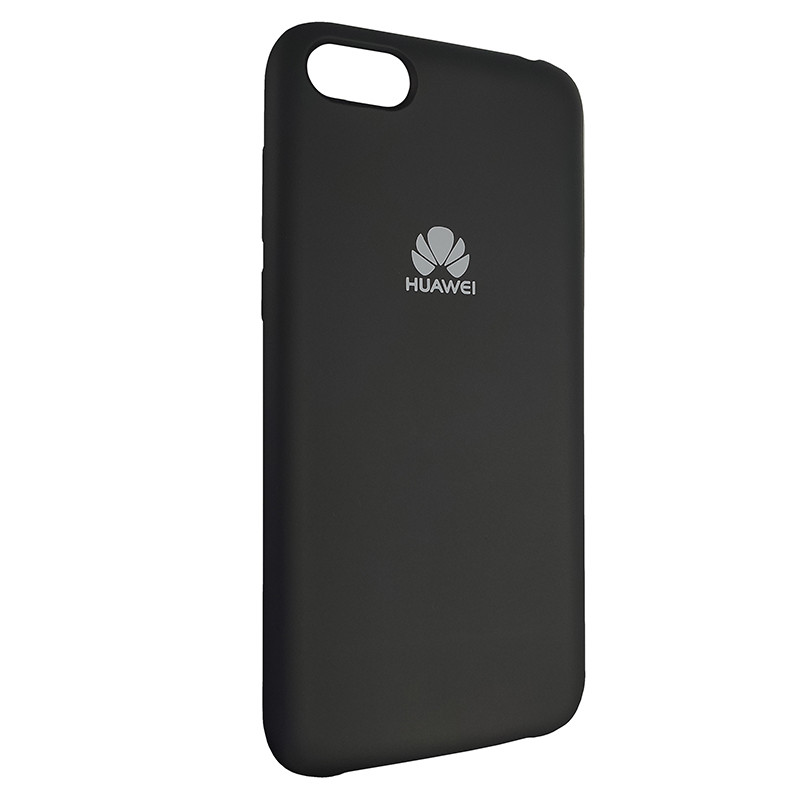 Чохол Silicone Case for Huawei Y5 Prime2018 Black (18) - 2