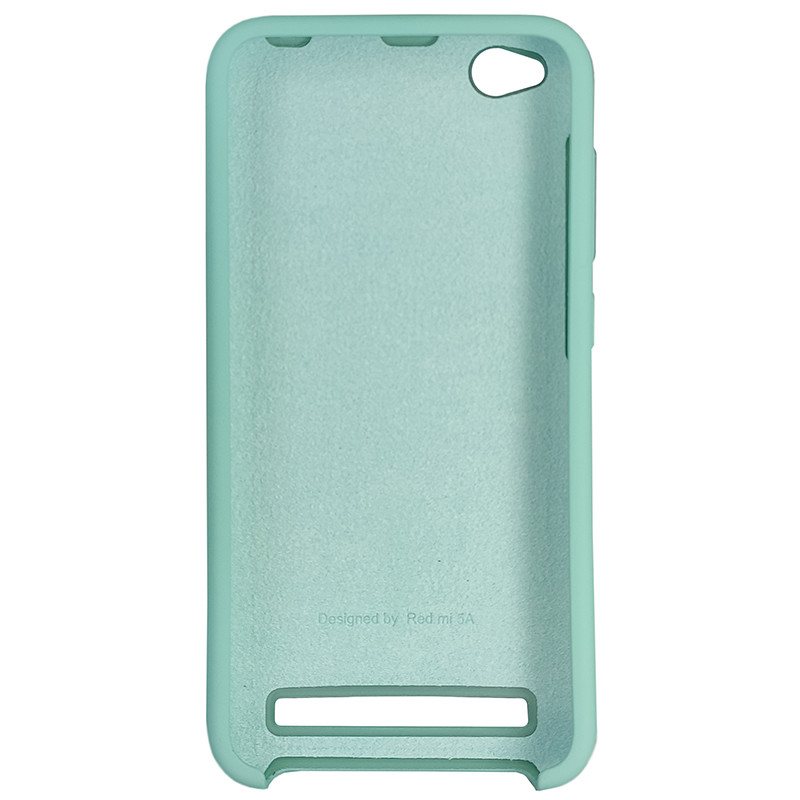 Чохол Silicone Case for Xiaomi Redmi 5 Ice Sea Blue (21) - 3