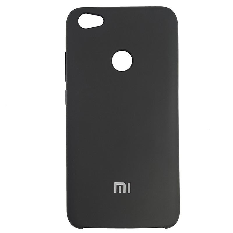 Чохол Silicone Case for Xiaomi Redmi Note 5A Black (18) - 1