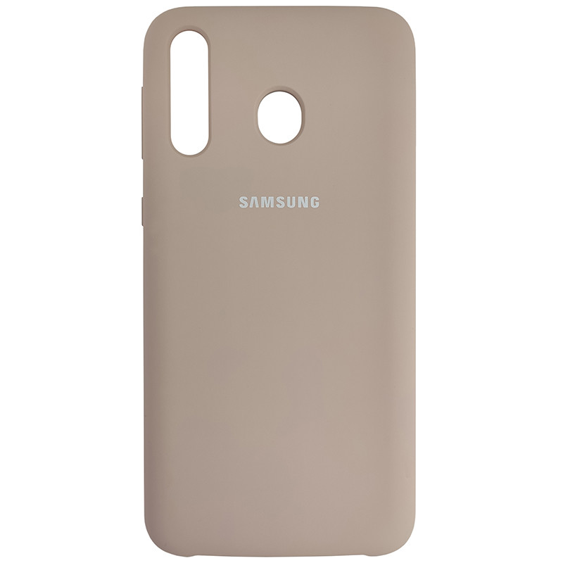 Чохол Silicone Case for Samsung M30 Sand Pink (19) - 1