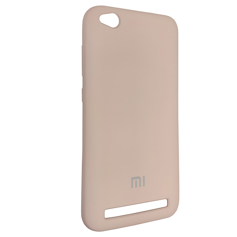Чохол Silicone Case for Xiaomi Redmi 5A Sand Pink (19) - 2