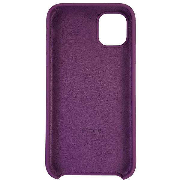 Чохол Copy Silicone Case iPhone 11 Purpule (45) - 4