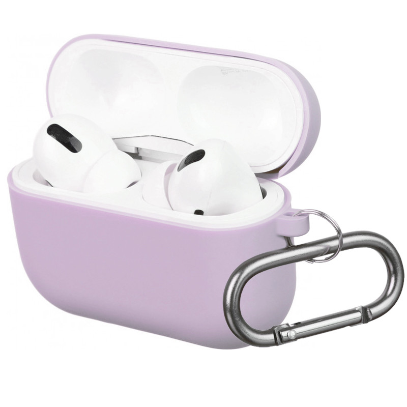 Silicone Case for AirPods Pro Light Violet (41) - 1