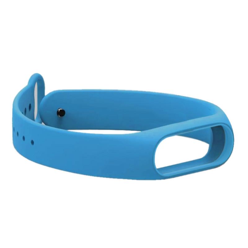 Ремінець для фітнес браслету Mi Band 2 (Silicon) Blue - 2