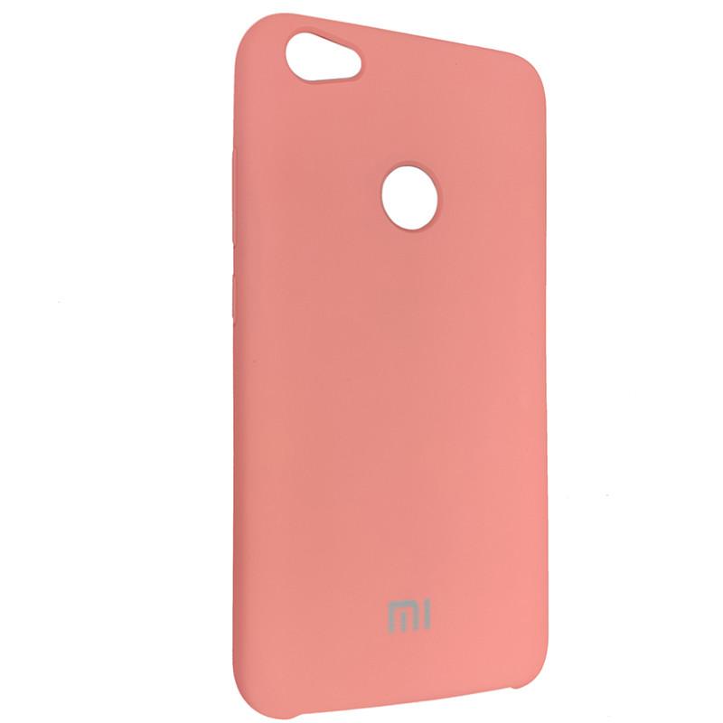 Чохол Silicone Case for Xiaomi Redmi Note 5A Peach Bl.Pink (light) (35) - 2