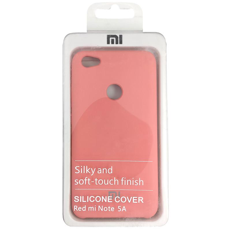 Чохол Silicone Case for Xiaomi Redmi Note 5A Peach Bl.Pink (light) (35) - 4