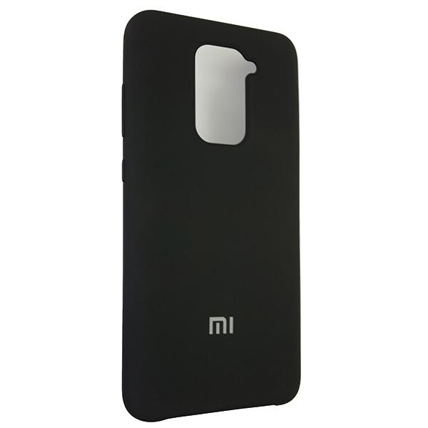 Чохол Silicone Case for Xiaomi Redmi Note 9 Black (18) - 2