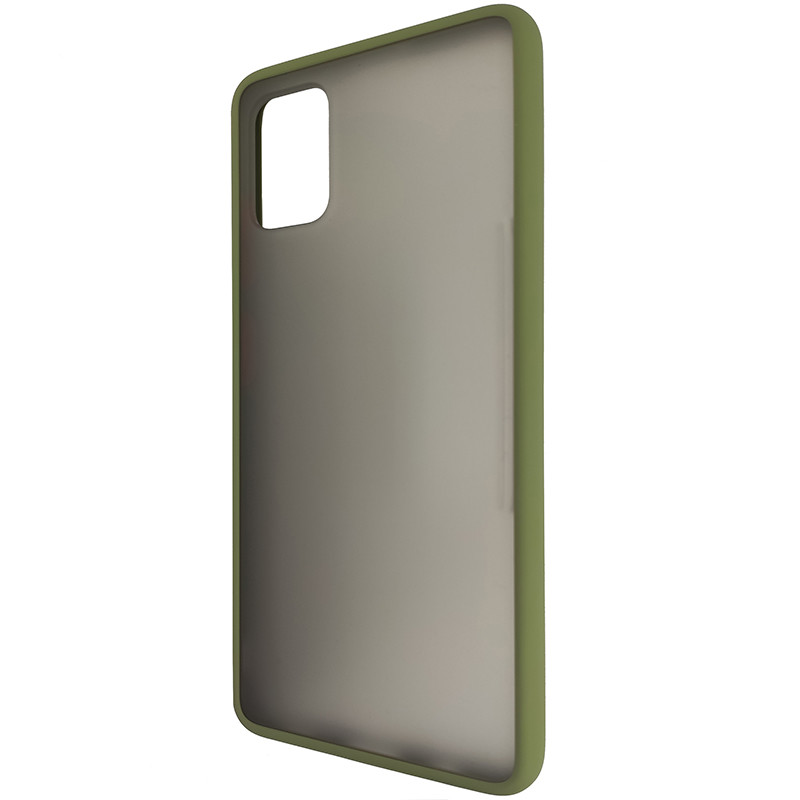 Чохол Totu Copy Gingle Series for Samsung A51/M40S Dark Green+Orange - 2