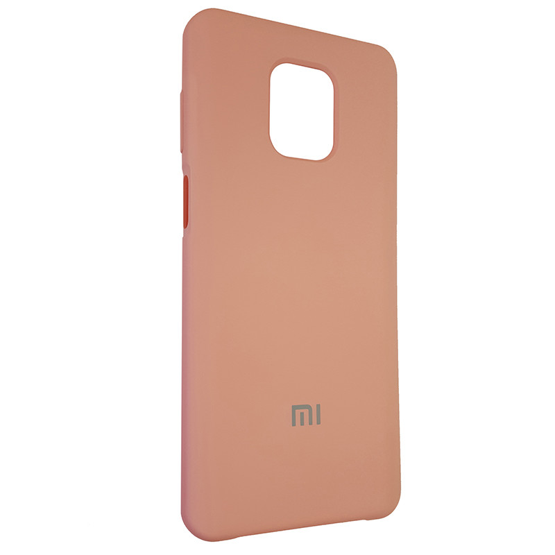 Чохол Silicone Case for Xiaomi Redmi Note 9S/9 Pro Light Pink (12) - 2