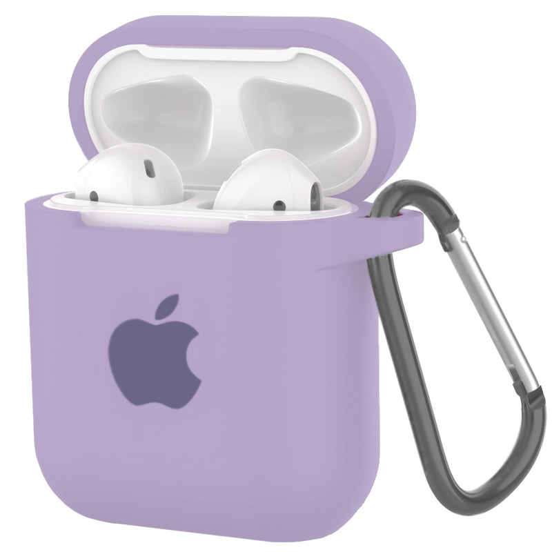 Silicone Case for AirPods Light Violet (41) - 1