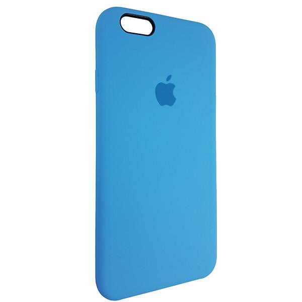 Чохол Copy Silicone Case iPhone 6 Sky Blue (16) - 1