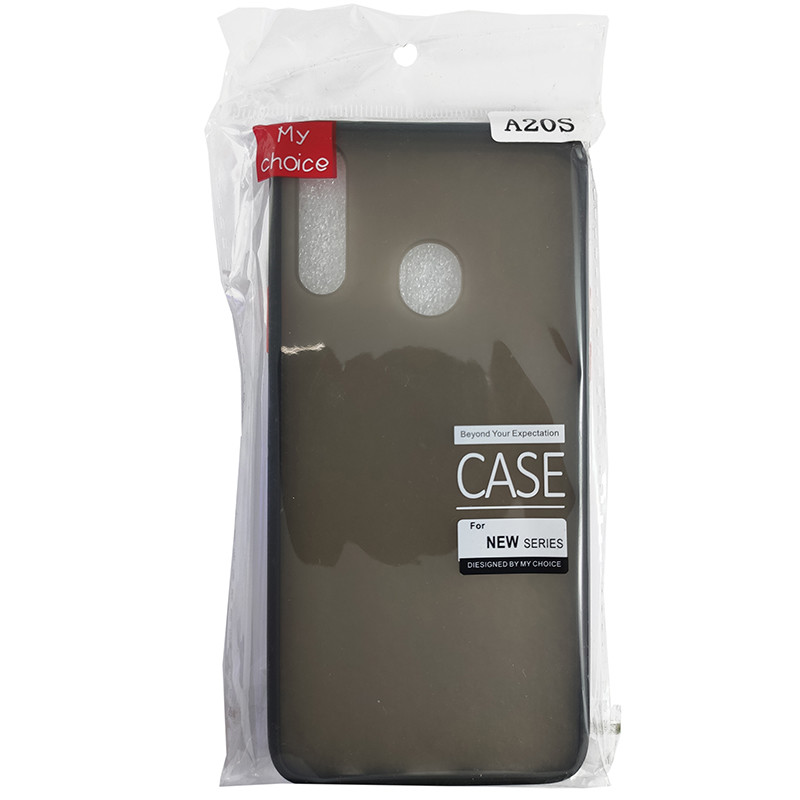 Чохол Totu Copy Gingle Series for Samsung A20S Black+Red - 4