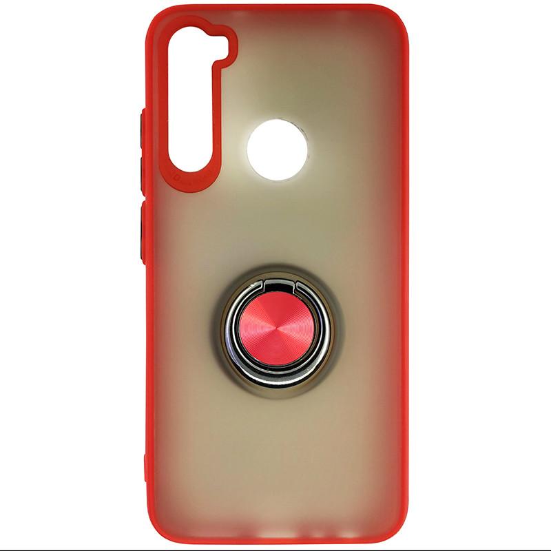Чохол Totu Copy Ring Case Xiaomi Redmi Note 8 Red+Black - 3