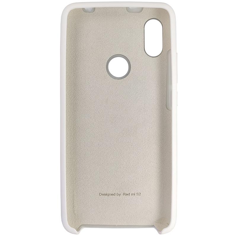 Чохол Silicone Case for Xiaomi Redmi S2 White (9) - 3