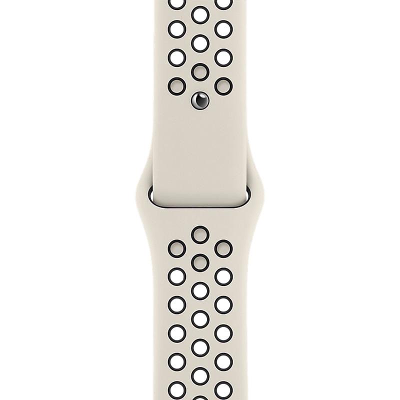 Ремінець для Apple Watch (42-44mm) Nike Sport Band Milk/Black - 1
