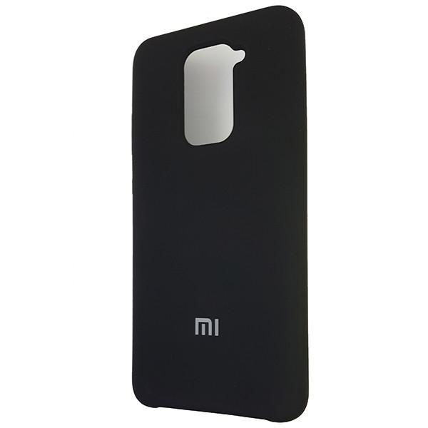 Чохол Silicone Case for Xiaomi Redmi Note 9 Black (18) - 1