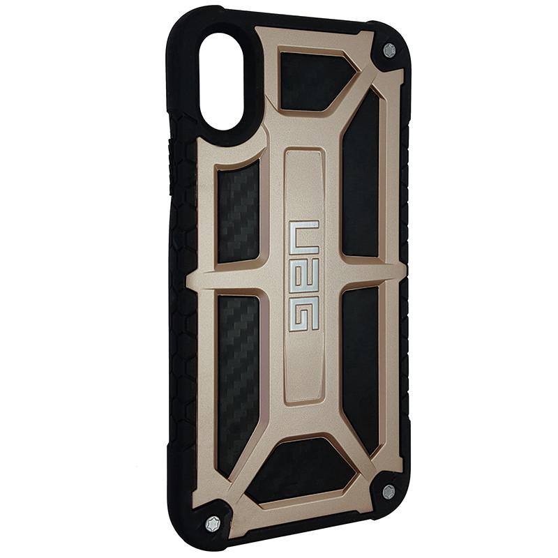 Чохол UAG Monarch iPhone X/XS Gold (HC) - 2