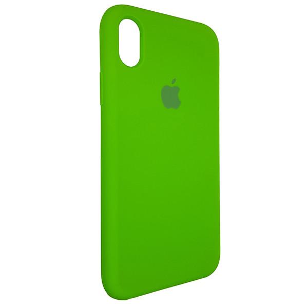 Чехол Original Soft Case iPhone XR Green (31) - 1