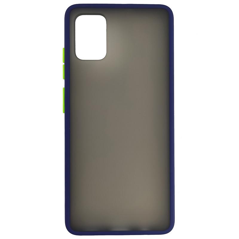 Чохол Totu Copy Gingle Series for Samsung A51/M40S Blue+Light Green - 3