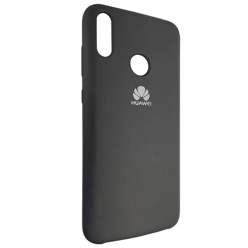 Чохол Silicone Case for Huawei Y7 2019 Black (18) - 2