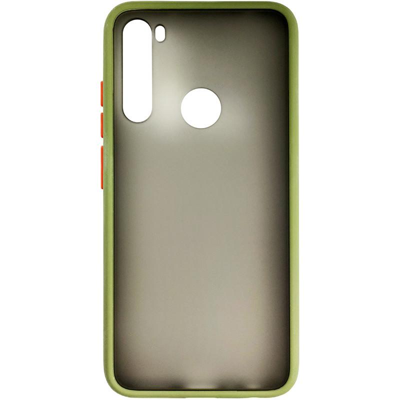 Чохол Totu Copy Gingle Series for Xiaomi Note 8 Dark Green+Orange - 2