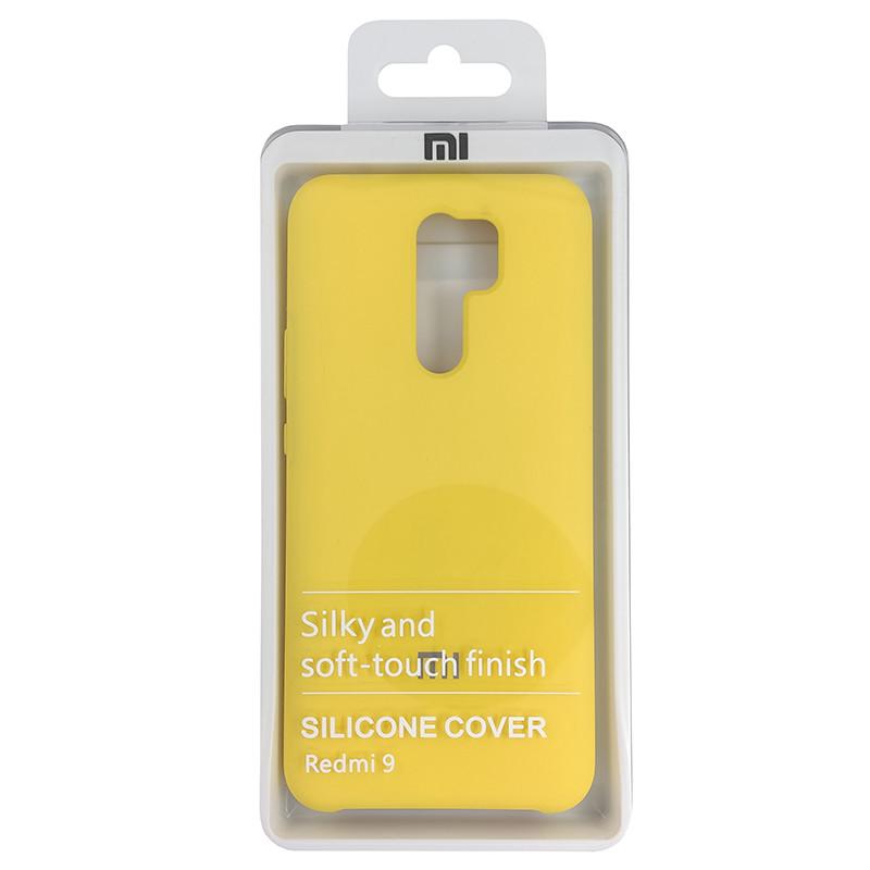 Чохол Silicone Case for Xiaomi Redmi 9 Yellow (4) - 4