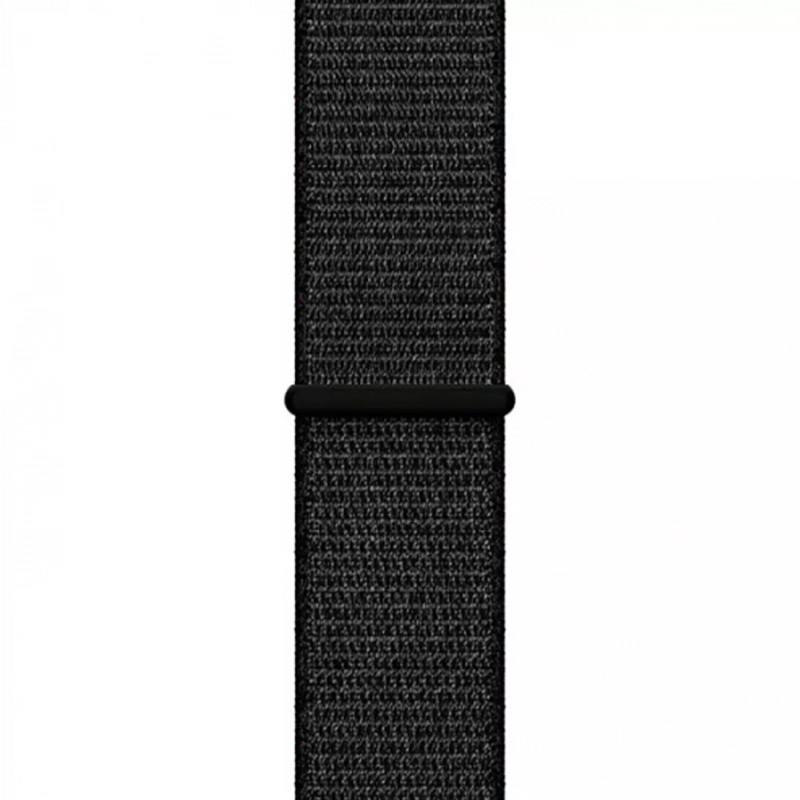 Ремінець для Apple Watch (42-44mm) Sport Loop Black - 1