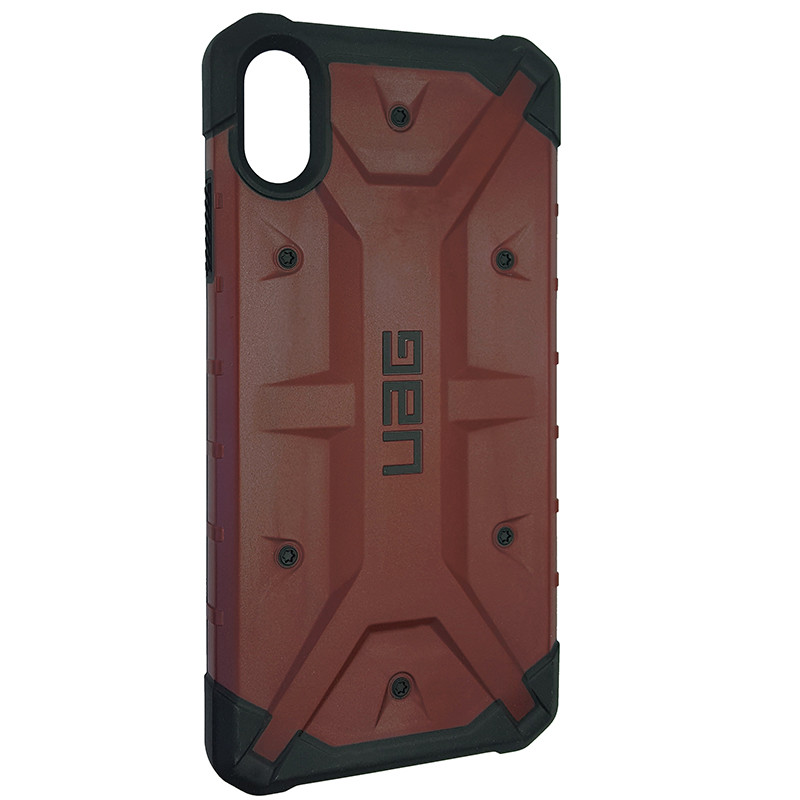Чохол UAG Pathfinder iPhone XS Max Wine Red (HC) - 2