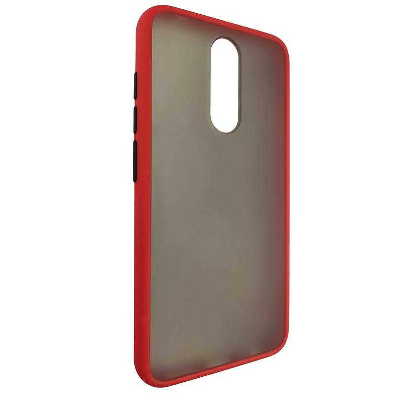Чохол Totu Copy Gingle Series for Xiaomi 8 Red+Black - 1