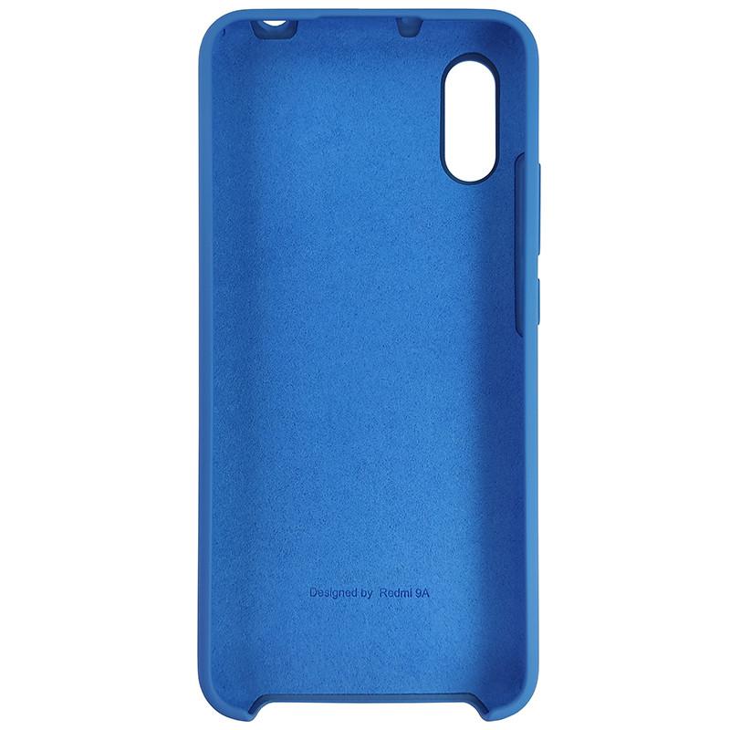 Чохол Silicone Case for Xiaomi Redmi 9A Blue (3) - 3