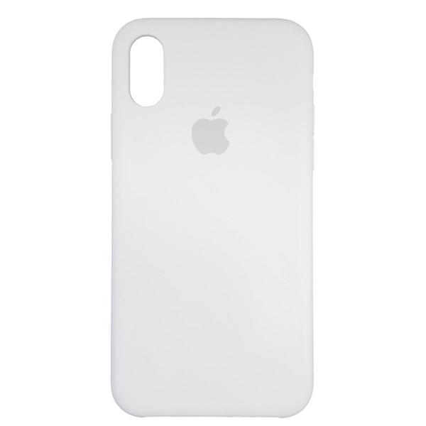 Чехол Copy Silicone Case iPhone X/XS White (9) - 3