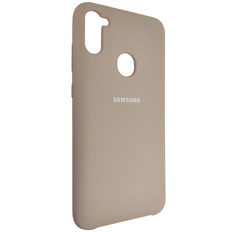 Чохол Silicone Case for Samsung A11/M11 Sand Pink (19) - 2