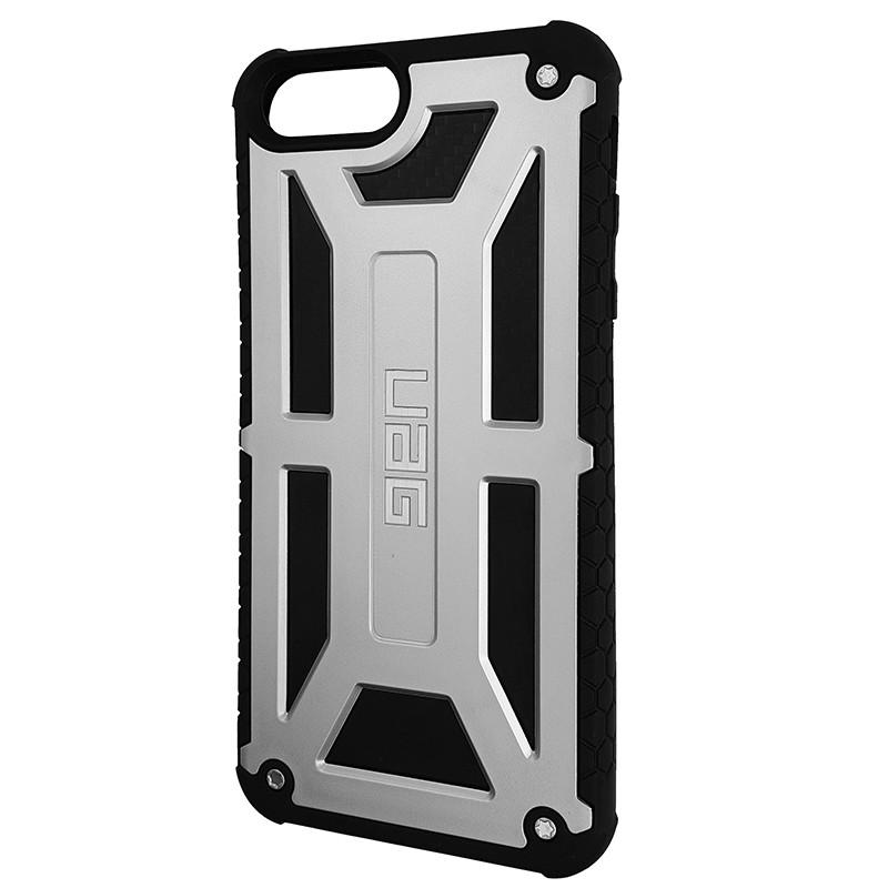Чохол UAG Monarch iPhone 7/8 Plus Silver (HC) - 1