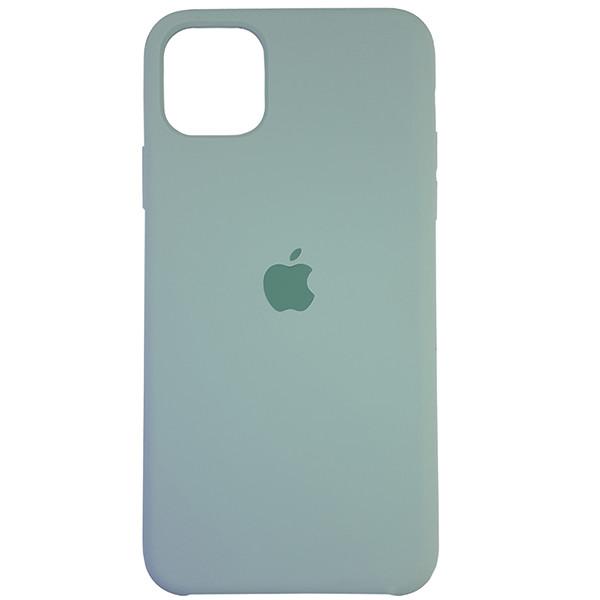 Чохол Copy Silicone Case iPhone 11 Pro Max Mist Green (17) - 3