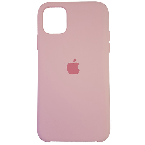Чохол Copy Silicone Case iPhone 11 Light Pink (6) - 3