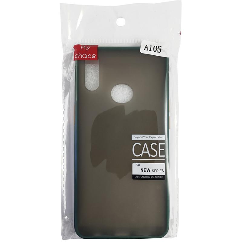 Чохол Totu Copy Gingle Series for Samsung A10S Dark Green+Orange - 4
