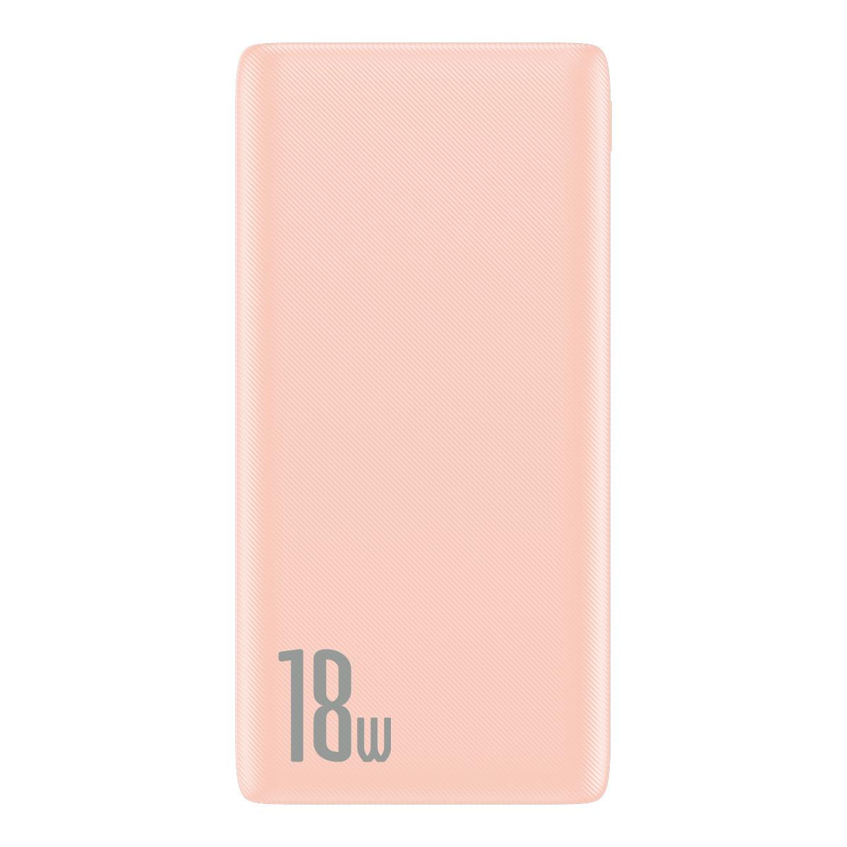 Power Bank Baseus Bipow PD+QC 10000mAh Pink - 4