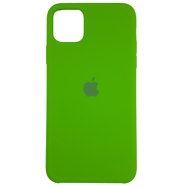Чохол Copy Silicone Case iPhone 11 Green (31) - 3